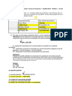 Correction examen gestion de production