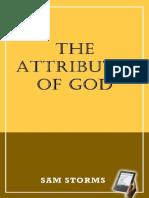 los atributos de Dios- Sam Storms