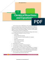 Chemistry PDF Chemical reactions and Equations 1