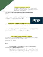 ejemplos Citas  y bibliografia en apa 6