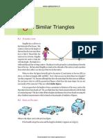 Mathematics Similar Triangles 8 eng