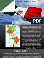 México Características Políticas, Económicas,Sociales y Culturales. Pedagogía
