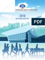 2018 Beijing Airport Interim Report