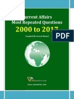 Most Repeated Question  Current Affairs 2000 to 2017.pdf