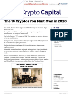 The 10 Cryptos You Must Own in 2020 - CryptoCapital -Symphonyconfidential
