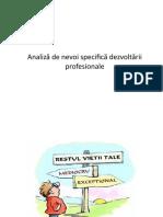 Analiză de nevoi specifică dezvoltării profesionale.pptx