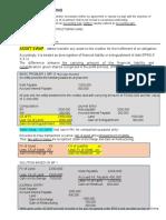 Debt restructuring summary (1)