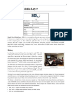 Simple Direct Media Layer (SDL)