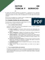 7 Requisitos de Resistencia y Servicio