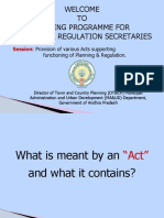 Act Provisions