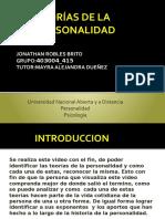 TEORÍAS DE LA PERSONALIDAD..