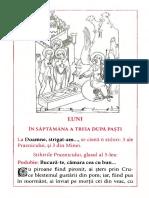 Saptamana a treia dupa Pasti - Antologhion Pio Romeno
