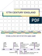 17TH CENTURY ENGLAND - presentation