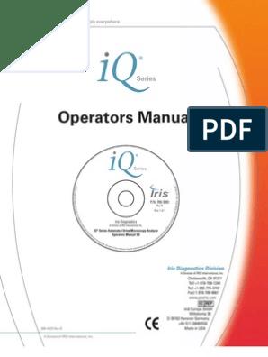User Manual IRIS | Personal Computers | Technology