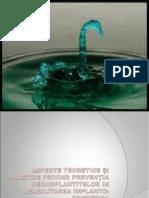 14. Dispensarizarea pacientului purtator de implanturi