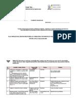 plan OPERAȚIONAL VIOLENTA 2019-2020