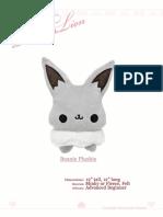 Eevee plushie sewing pattern by TeacupLion