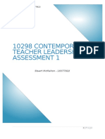 10298 contemporary teacher leadership assessment 1