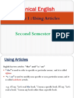 Lecture 1 Articles
