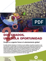 Calentamiento Global Oxfam