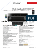 Yamaha RX-V2067 Product Bulletin
