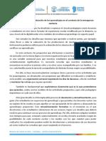 Orientaciones para la evaluación de los aprendizajes en el contexto de la emergencia sanitaria (1)