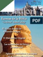 Revista digital Ávalon, enigmas y misterios. Año I - Nº 1 - Noviembre de 2009
