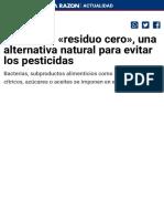 Alimentos «residuo cero», una alternativa natural para evitar los pesticidas.pdf