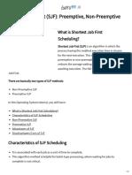Shortest Job First (SJF)_ Preemptive, Non-Preemptive Example.pdf