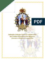 Subsidio Litúrgico para la celebracion del Triduo Pascual 2020