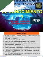 EL CONOCIMIENTO  2018-1