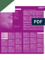 Uitleenvoorwaarden en adressen 2011