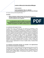 2019 08 20 FD EIB COHENDOZ Relación ISFD ESCUELAS en la construcción curricular