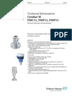 Ficha tecnica PMC51