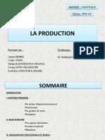 LA PRODUCTION EXPOSé.pptx