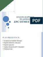 analiza kapitału własnego