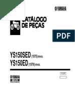 Fazer 2013 Ys Catalogo Peças