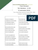 Schubert Der Wanderer