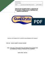 Plan Trabajos Caliente Seguridad Guapurutu