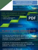 MAPAS Y PLANOS, ESCALAS, SISTEMA DE COORDENADAS.pptx