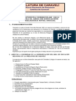 Propuesta Inicial 2011 Oficial