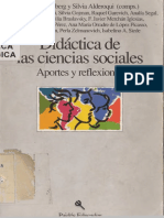 Iaies y Segal (1993). La escuela primaria y las ciencias sociales; una mirada hacia atrás y hacia adelante