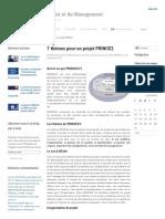 7 thèmes pour un projet PRINCE2 - Blog de la Gouvernance et du Management