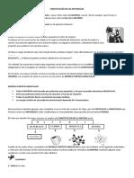 CONSTITUCIÓN DE LOS MATERIALES Y CAMBIOS DE ESTADO