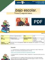 Eje I. Trabajo escolar.Primero básico..pdf