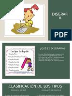 Educativa DISGRAFIA