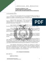 DECRETO SUPREMO No 0748