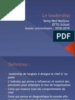 Le leadership