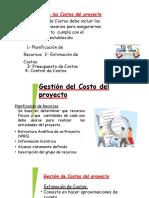 GESTION DE PROYECTOS PMI COSTOS, CALIDAD
