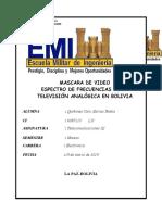 ESPECTRO TV ANALOGICA